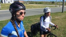 Montreal cyclists thank strangers after bikes break down in Cape Breton