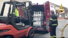 Italian Fire Service Pitches in to Help Hospitals Deal With COVID-19 Emergency