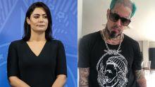 """Michelle Bolsonaro quer processar banda Detonautas por música """"Micheque"""""""