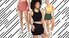 Exercise Skorts That Don't Sacrifice Style for Comfort