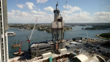 Construction work falls 1.9% in March qtr