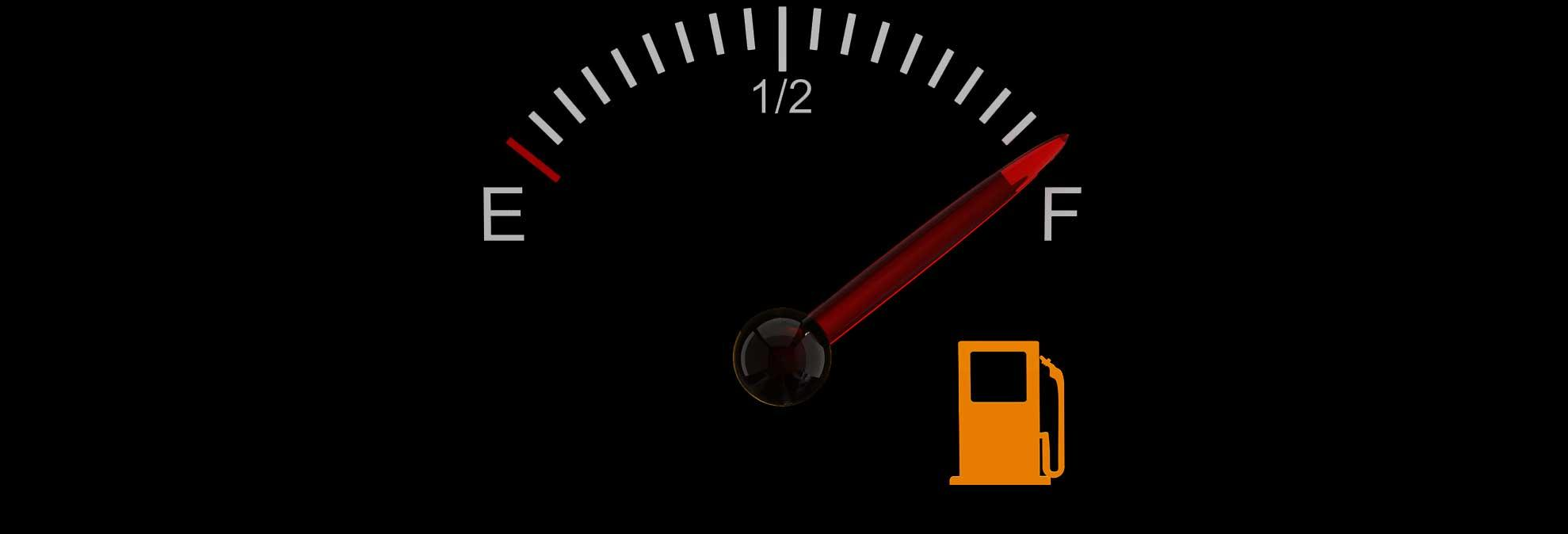 Used Car Full Tank Of Old Gas