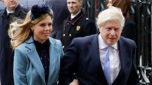 Boris Johnson's pregnant fiancee Carrie Symonds suffers coronavirus symptoms