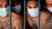 En fotos. Así están detenidos los pandilleros más peligrosos de El Salvador
