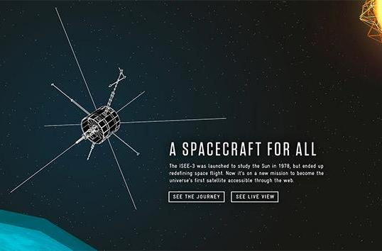 Watch the ISEE-3 lunar flyby live, beginning at 1:30PM ET