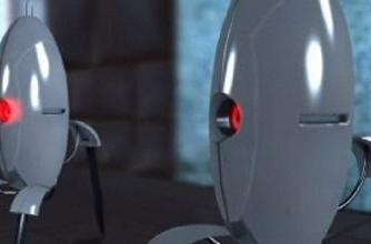 Today's 9-to-5 video: Portal: A day in the Life of a Turret