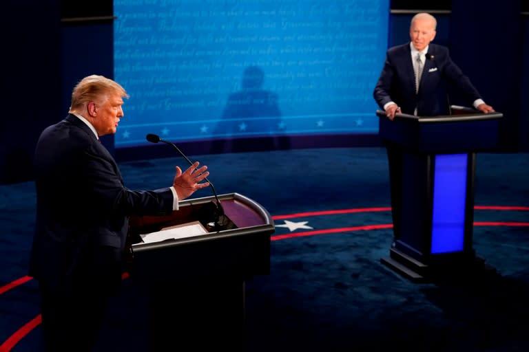 "An exasperated Biden variously described Trump as a ""clown,"" a ""fool,"" a ""liar"" and ""Putin's puppy"""