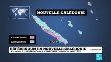"""La Nouvelle-Calédonie reste française, mais """"le 'oui' à l'indépendance progresse"""