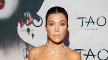 'Let me live': Kourtney Kardashian hits back after being shamed for eating on camera