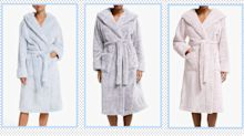 Comfort first: This John Lewis dressing gown fits the bill