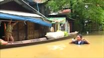 Flooding wreaks havoc in Myanmar