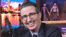 John Oliver 'nearly burst into tears' while voting for the first time as a U.S. citizen