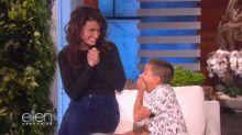 Idina Menzel surprised 11-year-old fan who sang 'Let It Go' on 'Ellen'