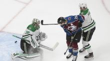 Stars' top line dominant in 5-3 win over Avs in Game 1