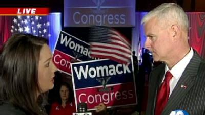 Womack Defeats Whitaker In 3rd District Race