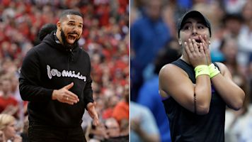 US Open champ gets her Drake shout-out