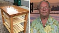 Veteran vows to keep making furniture for military families