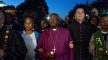 Royal wedding preacher Michael Curry leads march against Donald Trump in Washington