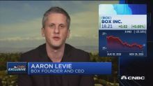 Box CEO Aaron Levie on earnings