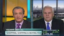 FedEx CEO: Economy is not strong