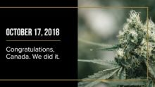 /R E P E A T -- Canopy Growth Celebrates History and the Legalization of Recreational Cannabis in Canada/