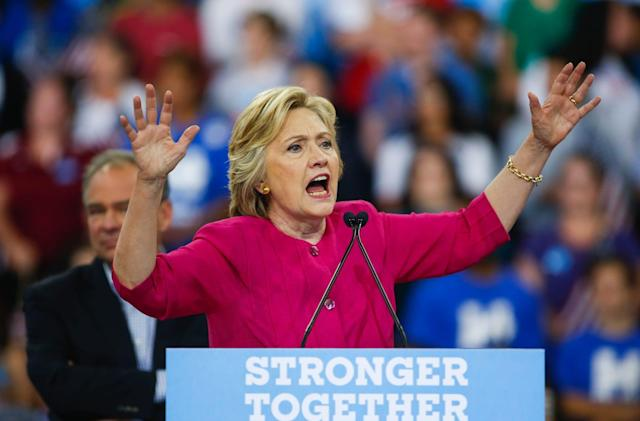 Clinton's campaign was also hacked in breach of Democratic Party