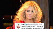 Khloé Kardashian Tweets a Message to Her Haters