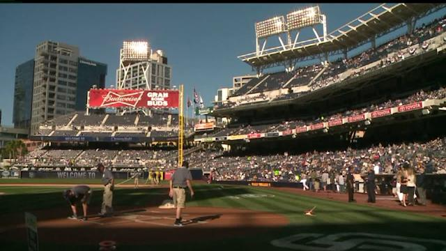Padres vs Dodgers Opening Game
