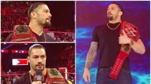 Roman Reigns Diagnosed With Blood Cancer, Relinquishes Universal Championship Title After Revealing About Leukaemia on WWE Monday Night RAW: Watch Videos