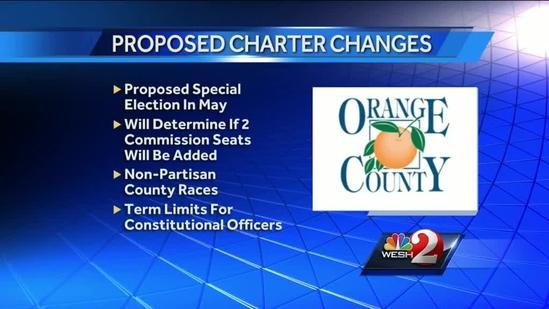 Orange County leaders meet to discuss charter changes