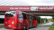 Bayern Munich in subdued return with Champions League trophy