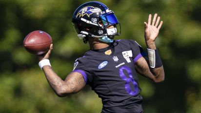 Lamar misses start of camp with COVID-19 issue