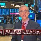 TD Ameritrade to allow bitcoin futures trading Monday