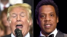 Trump Attacks 'Filthy' Jay-Z, Is Quickly Called Out Over His Own Potty Mouth