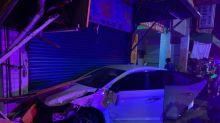 亡命毒鴛鴦拒捕衝撞警車 警狂射22槍