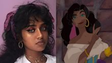 This teen looks like Disney's Esmeralda, and the internet can't handle it