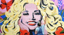 A new Dolly Parton mural in Nashville features her Black Lives Matter quote