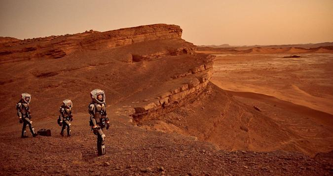 National Geographic's 'Mars' islike a SpaceXinfomercial