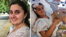 'I felt empty inside': Ariana's scary fight to beat brain cancer at 17