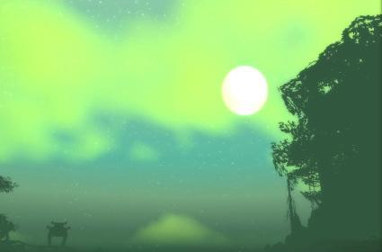 Around Azeroth: Feralas in the morning