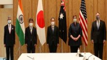 Quad foreign ministers discuss 'special partnership' in meeting with Japanese PM