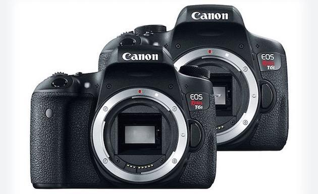 Some Canon Rebel T6s and T6i cameras have defective sensors