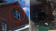Man discovers entire 'secret room' behind mysterious window