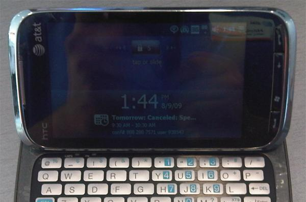 HTC Touch Pro2 spotted again, this time with AT&T branding -- to be called Tilt 2?