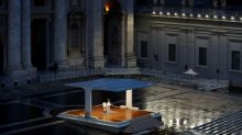 Pope faces coronavirus 'tempest' alone in St Peter's Square