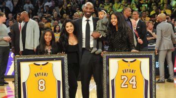 Emotional Vanessa praises Kobe after Hall call
