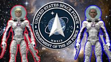 Space Force action figures look to take off with Kickstarter