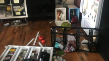 Woman accuses housecleaners of trashing her apartment, one passing out with door left open