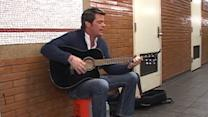 John Muller Takes His Talent to the Subway