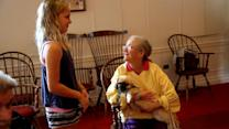 How Pet Therapy Emotionally, Physically Benefits Nursing Home Residents